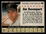 1961 Post Cereal #149 BOX Jim Davenport   Front Thumbnail