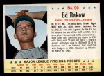 1963 Post #90  Ed Rakow  Front Thumbnail