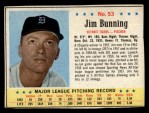1963 Post #53  Jim Bunning  Front Thumbnail