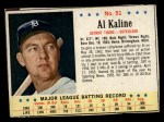 1963 Post Cereal #51  Al Kaline  Front Thumbnail