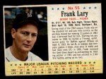 1963 Post Cereal #55  Frank Lary  Front Thumbnail