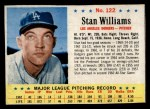 1963 Post #122  Stan Williams  Front Thumbnail