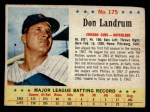 1963 Post #175  Don Landrum  Front Thumbnail