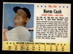 1963 Post #46  Norm Cash  Front Thumbnail