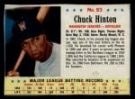 1963 Post #93  Chuck Hinton  Front Thumbnail