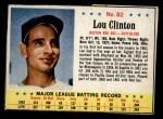 1963 Post #82  Lou Clinton  Front Thumbnail