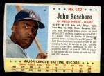 1963 Post #120  John Roseboro  Front Thumbnail