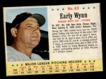 1963 Post Cereal #43  Early Wynn  Front Thumbnail