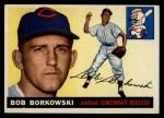 1955 Topps #74  Bob Borkowski  Front Thumbnail