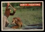 1956 Topps Davy Crockett #37 ORG  Dirty Fighting  Front Thumbnail