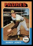 1975 Topps #248  Randy Jones  Front Thumbnail