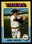 1975 Topps #271  Jerry Moses  Front Thumbnail