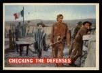 1956 Topps Davy Crockett #64 ORG  Checking The Defenses  Front Thumbnail