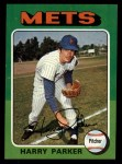 1975 Topps #214  Harry Parker  Front Thumbnail