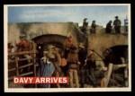 1956 Topps Davy Crockett #50 ORG  Davy Arrives  Front Thumbnail