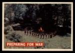 1956 Topps Davy Crockett #8 ORG  Preparing for War  Front Thumbnail