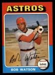 1975 Topps #227  Bob Watson  Front Thumbnail