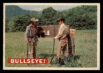 1956 Topps Davy Crockett #35 ORG  Bullseye!  Front Thumbnail