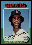 1975 Topps #240  Garry Maddox  Front Thumbnail
