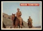 1956 Topps Davy Crockett #25 ORG  Indian Territory  Front Thumbnail
