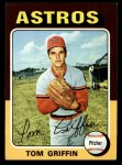 1975 Topps #188  Tom Griffin  Front Thumbnail