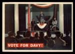 1956 Topps Davy Crockett #41 ORG  Vote For Davy!  Front Thumbnail