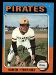 1975 Topps #224  Ramon Hernandez  Front Thumbnail