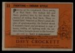 1956 Topps Davy Crockett #33 ORG  Fighting Back Thumbnail