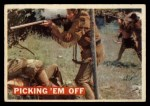 1956 Topps Davy Crockett #19 ORG  Picking 'Em Off  Front Thumbnail