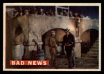 1956 Topps Davy Crockett #59 ORG  Bad News  Front Thumbnail