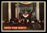 1956 Topps Davy Crockett #41 ORG  Vote For Davy!  Front Thumbnail