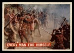 1956 Topps Davy Crockett #16 ORG  Every Man for Himself  Front Thumbnail