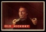 1956 Topps Davy Crockett #5 GRN  Old Hickory  Front Thumbnail