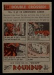 1956 Topps Round Up #64   -  Geronimo  Double Crossed Back Thumbnail