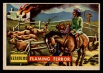 1956 Topps Round Up #68   -  Geronimo Flaming Terror Front Thumbnail