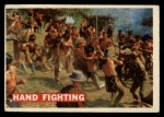 1956 Topps Davy Crockett #20 ORG  Hand Fighting  Front Thumbnail