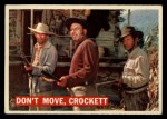 1956 Topps Davy Crockett #36 ORG  Don't Move Front Thumbnail
