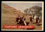 1956 Topps Davy Crockett #49 GRN  Capture Crock  Front Thumbnail
