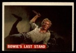 1956 Topps Davy Crockett #80 ORA  Bowie's Last Stand  Front Thumbnail