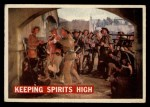 1956 Topps Davy Crockett #63 ORG  Keeping Spirits High  Front Thumbnail