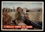 1956 Topps Davy Crockett #76 ORG  Bullet Finds Its Mark  Front Thumbnail