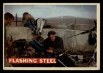 1956 Topps Davy Crockett #74 ORG  Flashing Steel  Front Thumbnail