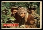1956 Topps Davy Crockett #20 GEO  Ambush Front Thumbnail