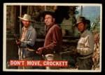 1956 Topps Davy Crockett #36 ORG  Don't Move Front Thumbnail