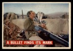 1956 Topps Davy Crockett #76 ORG  Bullet Finds Its Mark  Front Thumbnail