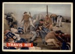 1956 Topps Davy Crockett #75 ORG  Travis Hit  Front Thumbnail