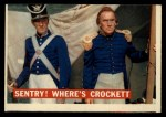 1956 Topps Davy Crockett #4 ORG  Sentry! Where's Crockett    Front Thumbnail