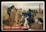 1956 Topps Davy Crockett #71 ORG  Fists Against Guns  Front Thumbnail