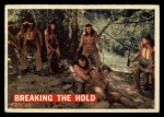 1956 Topps Davy Crockett #32 ORG  Breaking the Hold  Front Thumbnail