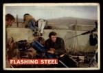1956 Topps Davy Crockett #74 ORG  Flashing Steel  Front Thumbnail